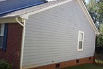 Siding replacement and repair - before