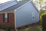 Siding replacement, repair and painting - after